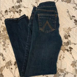 Skinny jeans from Delia's